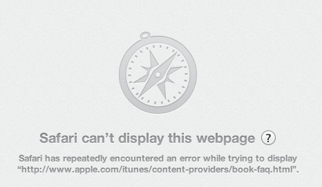 Safari Fail